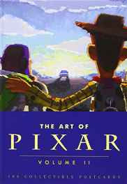 The Art of Pixar Volume II: 100 Collectible Postcards: 2 Card Book – Import 19 Sep 2012-sanapalas