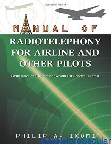 Manual of Radio Telephony for Airline and Other Pilots sanapalas
