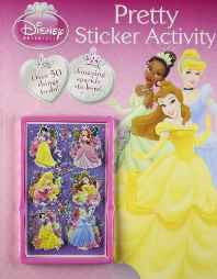 Disney Princess: Pretty Sticker Activity (Disney 3d Sticker Activity) Paperback – 1 Jan 2011-sanapalas