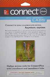 Connect and LearnSmart Labs Access Card for Essentials of Biology Printed Access Code-sanapalas