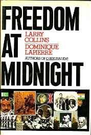 FREEDOM AT MIDNGHT Hardcover – Import 20 Oct 1975-sanapalas