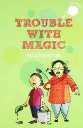 Trouble with Magic Paperback – 5 May 2013-sanapalas
