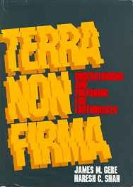 Terra Non Firma: Understanding and Preparing for Earthquakes Hardcover – Sep 1984-sanapalas