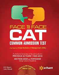 Face to Face CAT Common Admission Test (Old Edition) Paperback – 10 Feb 2015-Books-sanapalas