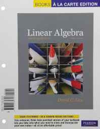 Linear Algebra and Its Applications Loose Leaf – Import 29 Apr 2011-sanapalas