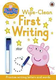 Peppa Pig: Practise with Peppa: Wipe-Clean First Writing Paperback – Import 7 Jul 2016-Books-sanapalas