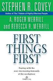 First Things First Audio CD – Abridged Audiobook CD-Books-sanapalas
