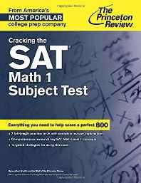 Cracking the SAT Math - 1 Subject Test (College Test Preparation) Paperback – Dec 2014-sanapalas