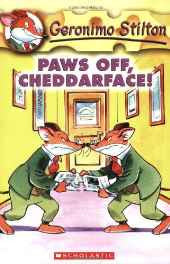 Paws off Cheddarface!: 6: 06 (Geronimo Stilton) Paperback – 1 Apr 2004 sanapalas