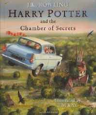 Harry Potter and the Chamber of Secrets Hardcover – Illustrated 4 Oct 2016-Books-sanapalas