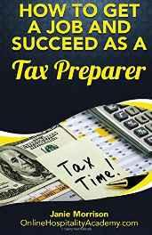 How to Get a Job and Succeed as a Tax Preparer Paperback – Import 27 Oct 2016-Books-sanapalas