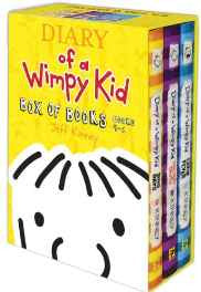 Diary of a Wimpy Kid Box of Books 4-6 Hardcover – Import 1 Nov 2012-sanapalas