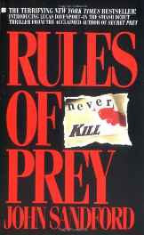 Rules of Prey Mass Market Paperback – Import 1 Apr 1990 sanapalas