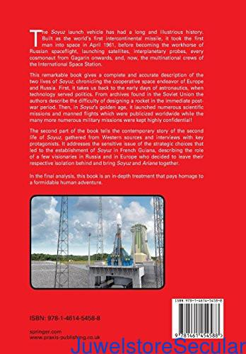 The Soyuz Launch Vehicle: The Two Lives of an Engineering Triumph (Springer Praxis Books) sanapalas