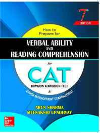 How to Prepare for Verbal Ability and Reading Comprehension for CAT Paperback – 4 Aug 2016-Books-sanapalas