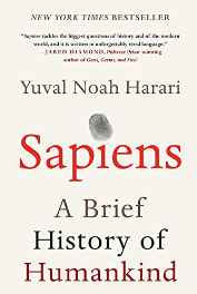 Sapiens: A Brief History of Humankind Hardcover – 10 Feb 2015-Books-sanapalas
