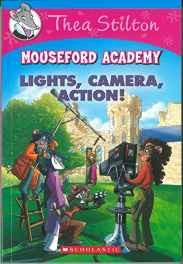 Thea Stilton Mouseford Academy #11: Lights Camera Action! Paperback – Sep 2016-Books-sanapalas