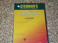 Stedman's Abbreviations Acronyms and Symbols: Version 2.0 (Stedman's Electronic Medical Reference) CD-ROM – Import 1 Jun 2004-sanapalas