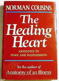 Cousins: Healing Heart: Antidotes To Panic & Helplessness Hardcover – Import 28 Mar 1984-sanapalas