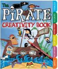 The Pirate Creativity Book: Games Fold-Out Scenes Cut-Outs Textures Stickers and Stencils (Barron's Educational Series) Spiral-bound – Import Aug 2011-Books-sanapalas