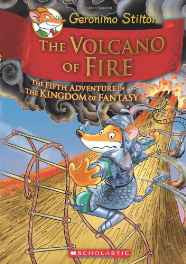 The Volcano of Fire: 5 (Geronimo Stilton) Hardcover – 2013-sanapalas