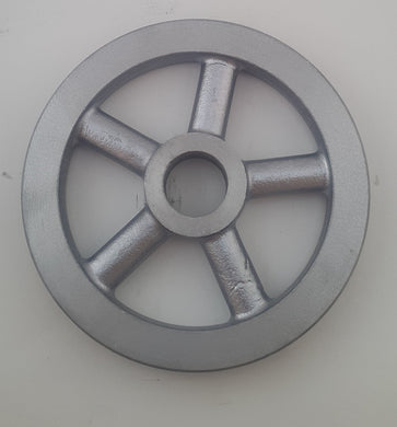 Pulley wheel 120mm for pendant light - Aluminium Flanges