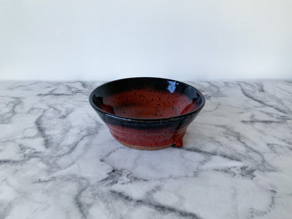 Bowl | Red and Black