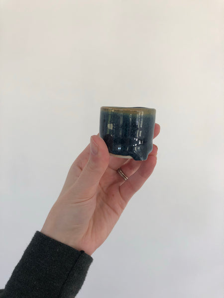 Shot glass | Blue