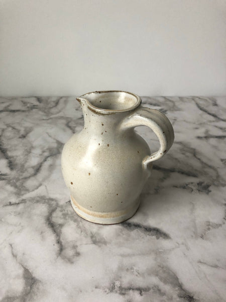 Pitcher | Speckled White