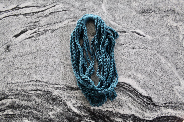 Chain Scarf | The Nicky Necklace in Teal