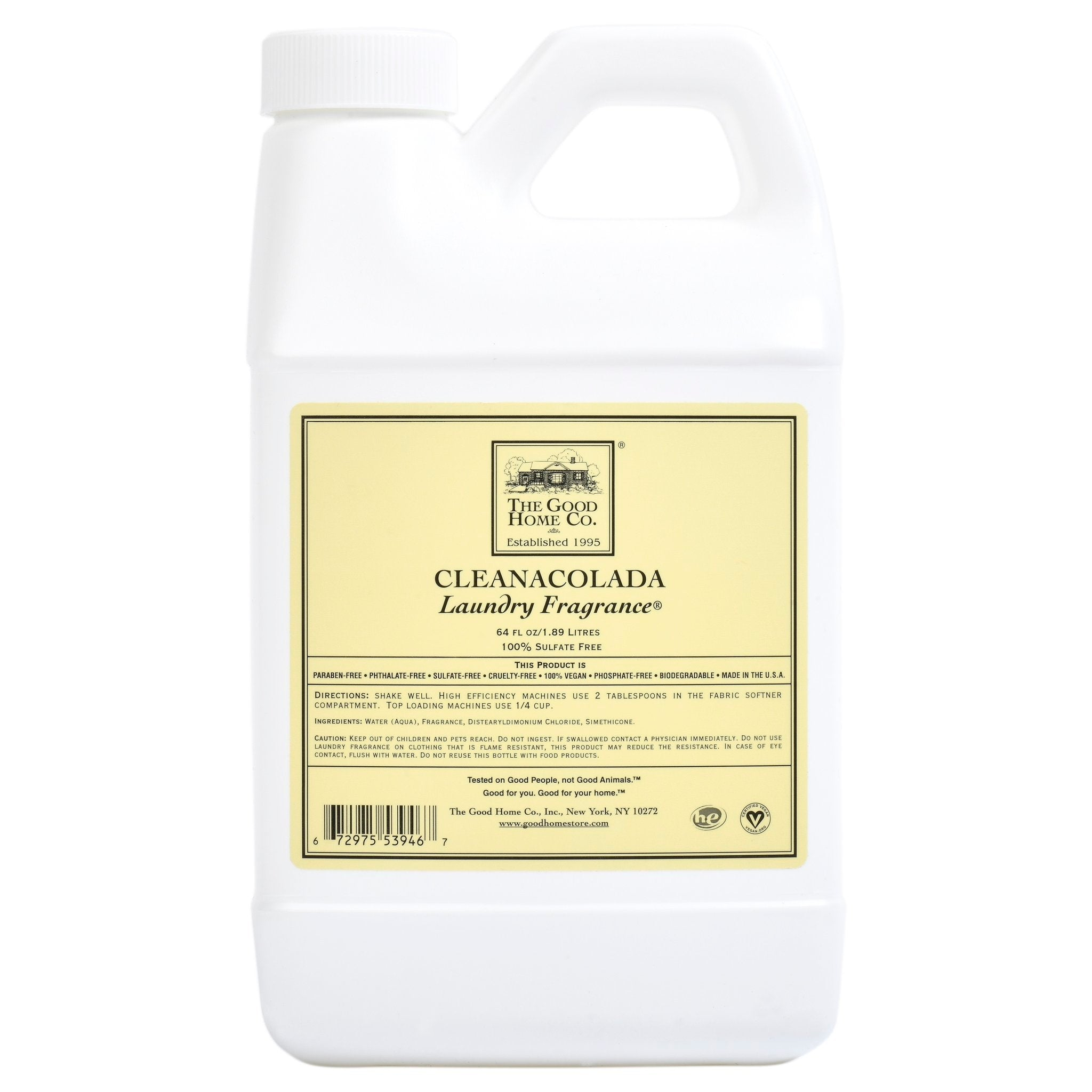 Natural laundry and cleaning products from the Good Home Company