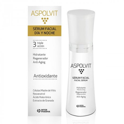 ASPOLVIT SÉRUM FACIAL DÍA Y NOCHE - International Beauty Shop