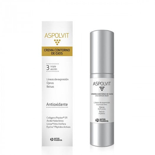 ASPOLVIT CREMA CONTORNO DE OJOS - International Beauty Shop