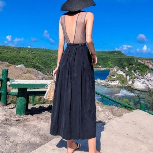 IRIS OPEN BACK DRESS