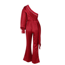 GUNTHER ONE SHOULDER JUMPSUIT