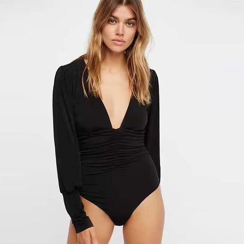 FOLEY DEEP V BODYSUIT