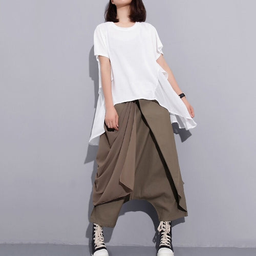 ASTOR LAYERED HAREM PANTS