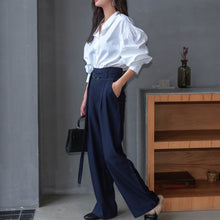 YUNA HIGH WAIST TROUSERS
