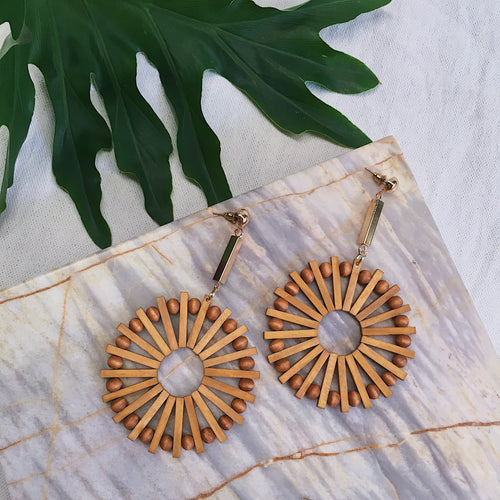 AOI CIRCLE EARRINGS