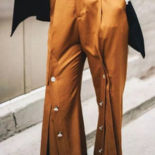 NOLA WIDE LEG SPLIT PANTS