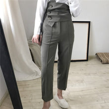 HESTON HIGH WAIST BELTED PANTS