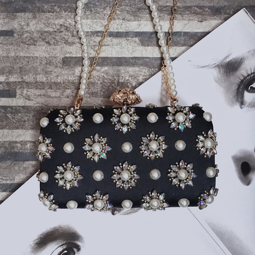 MARICE EMBELLISHED CLUTCH