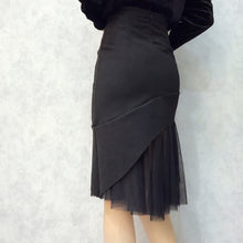 LIVONIA TULLE TRIM SKIRT