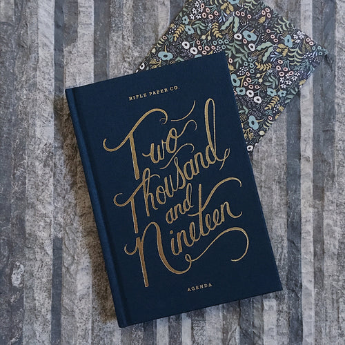 RIFLE PAPER CO. 2019 PLANNER