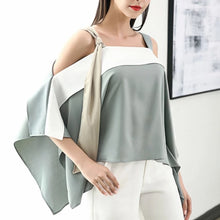 ROBBINS COLD SHOULDER TOP
