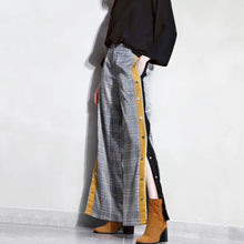 REEVES PLAID TROUSERS