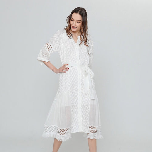 ERICE LACE TUNIC DRESS