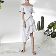 SLOAN OFF SHOULDER DRESS