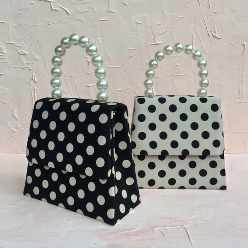 BAZILLE POLKA DOT BAG