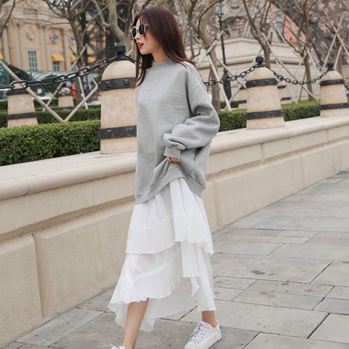 JENKINS SWEATSHIRT DRESS